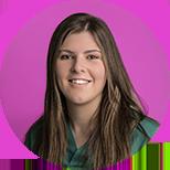 Nerea Díaz, higienista en la clínica Vioño Dental